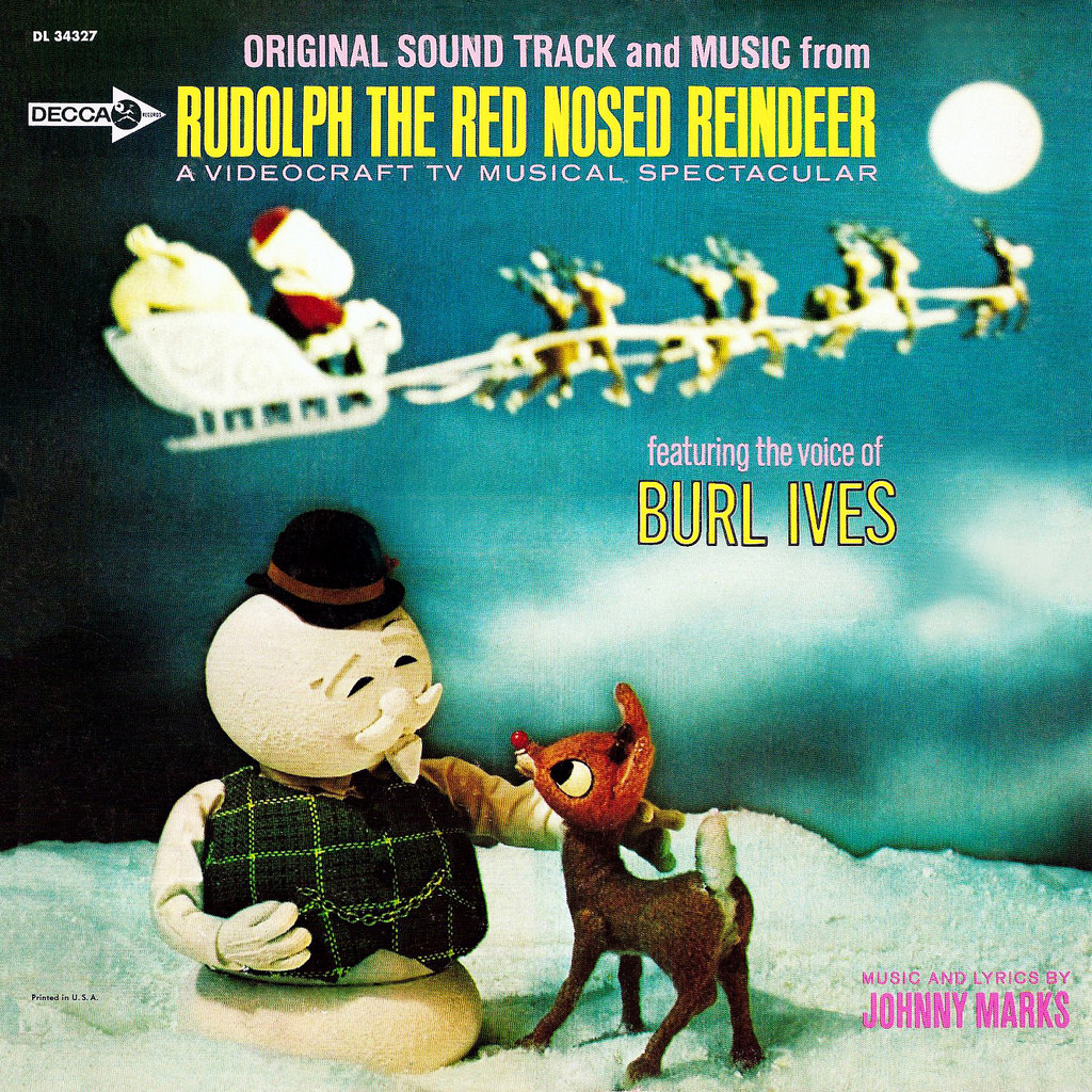 Rudolph The Red Nosed Reindeer Soundtrack Vinyl