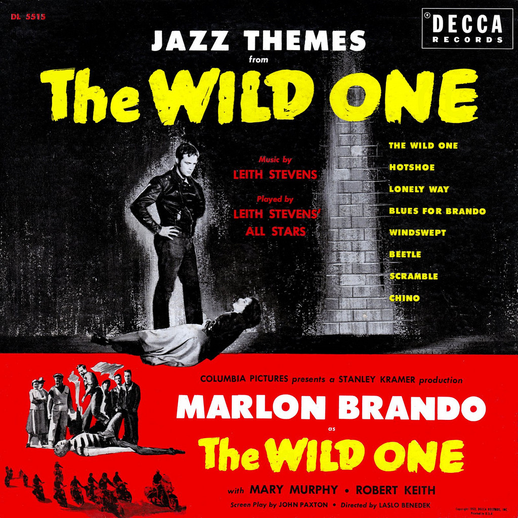 Film Music Site The Wild One Soundtrack Shorty Rogers