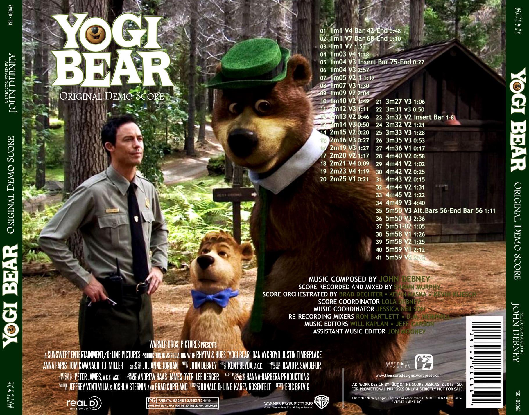 Film Music Site Yogi Bear Soundtrack John Debney Promo Score 2012