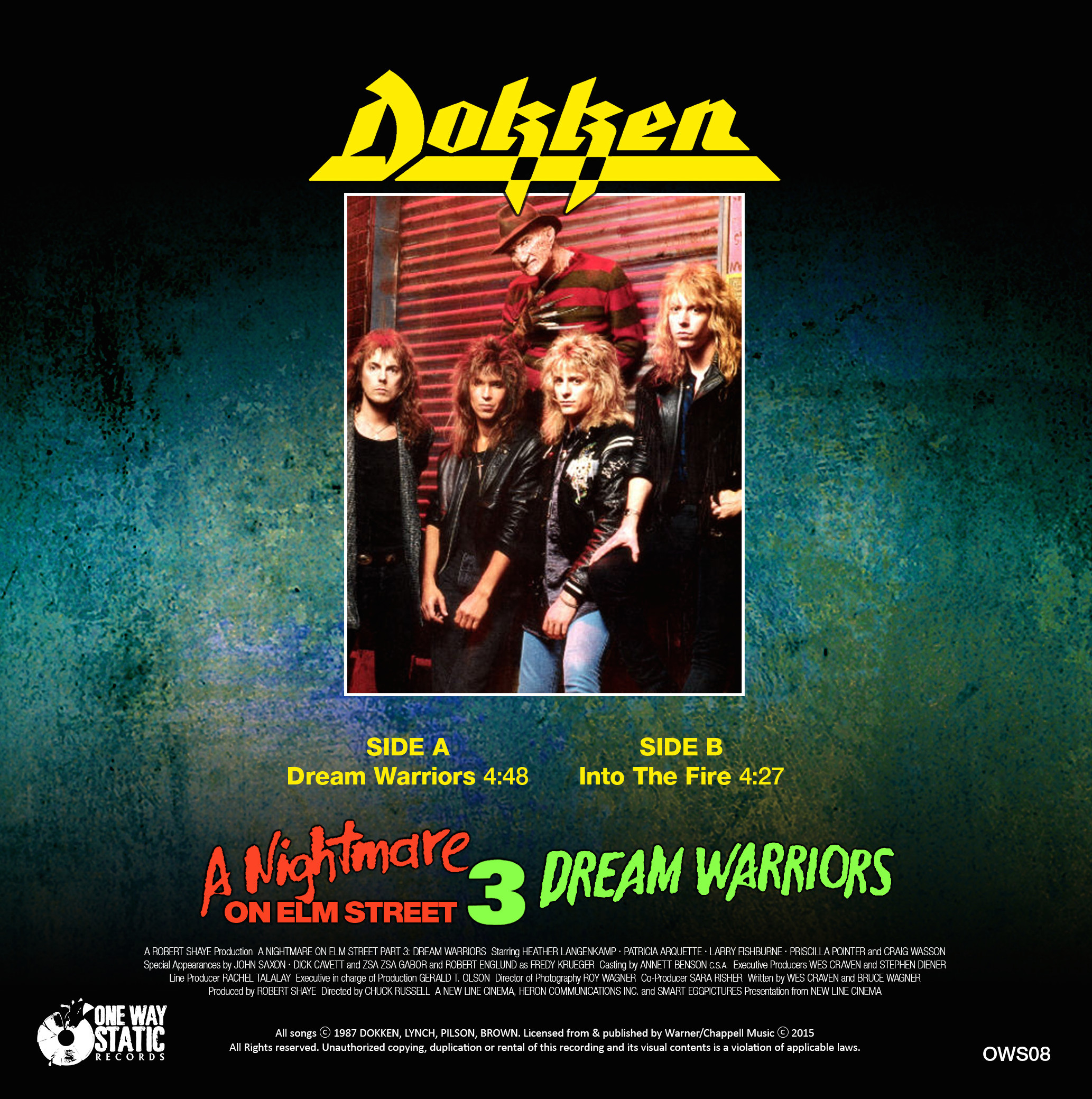 Film Music Site Dream Warriors Into The Fire