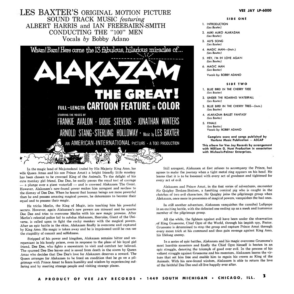 Film Music Site - Alakazam the Great Soundtrack (Les Baxter