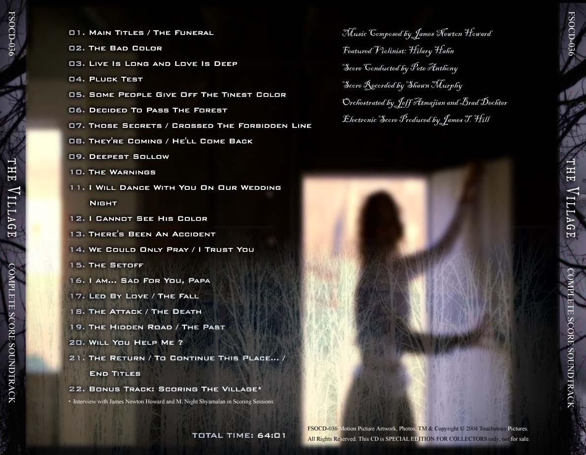 Village of the Damned (soundtrack)