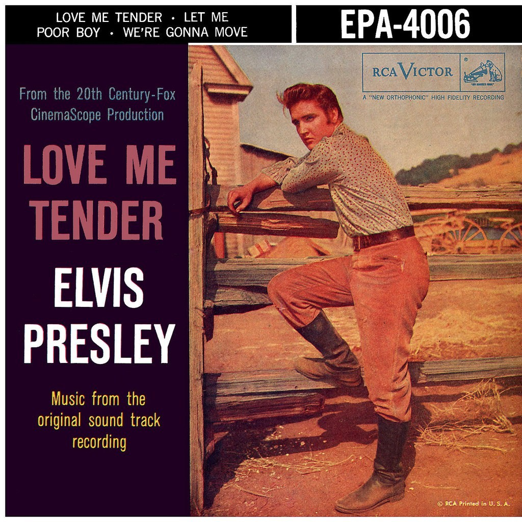 film music site love me tender soundtrack lionel newman elvis presley rca victor 0. Black Bedroom Furniture Sets. Home Design Ideas