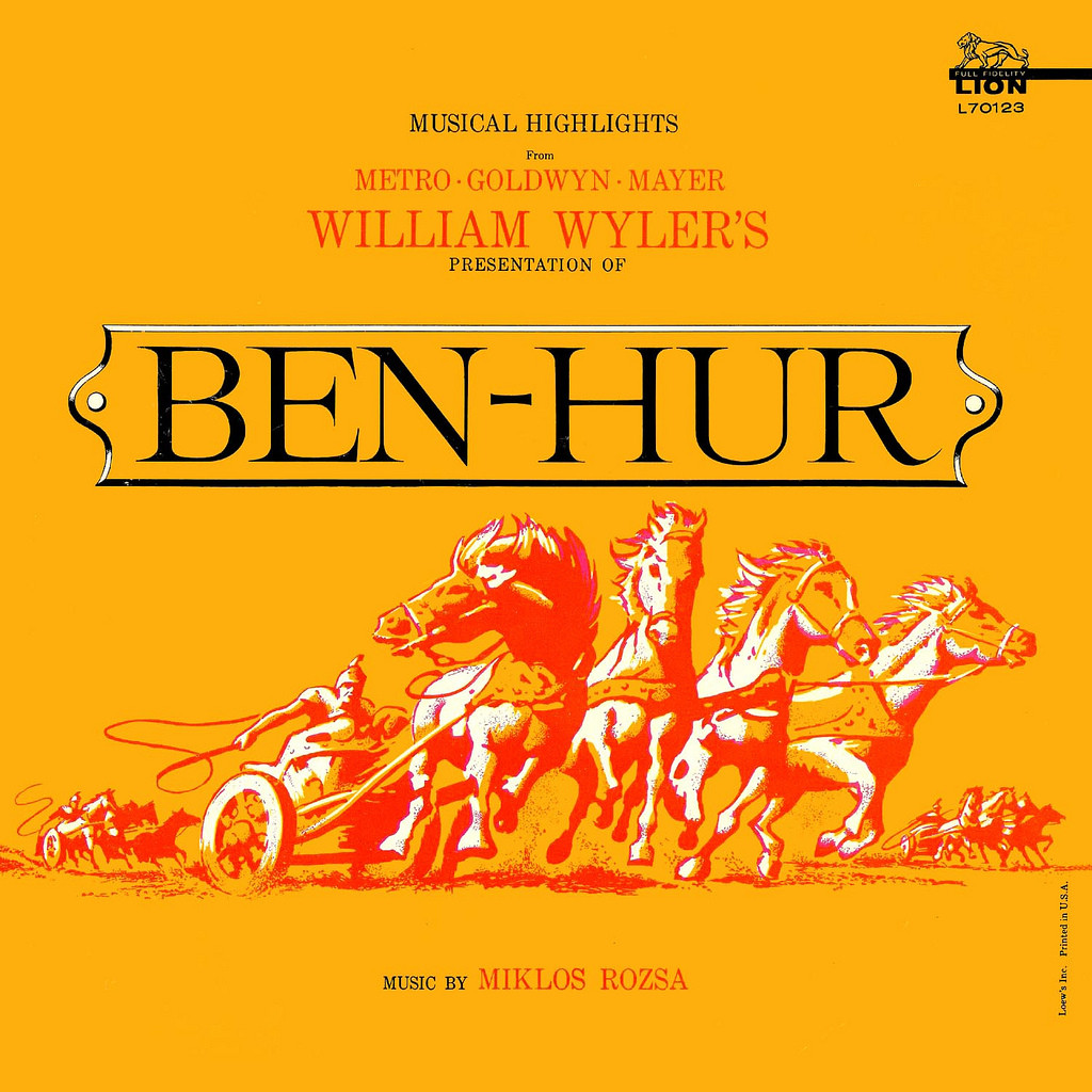 Film Music Site Musical Highlights From Ben Hur