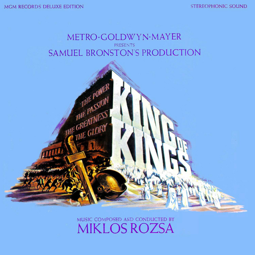 Film Music Site King Of Kings Soundtrack Mikl 243 S R 243 Zsa