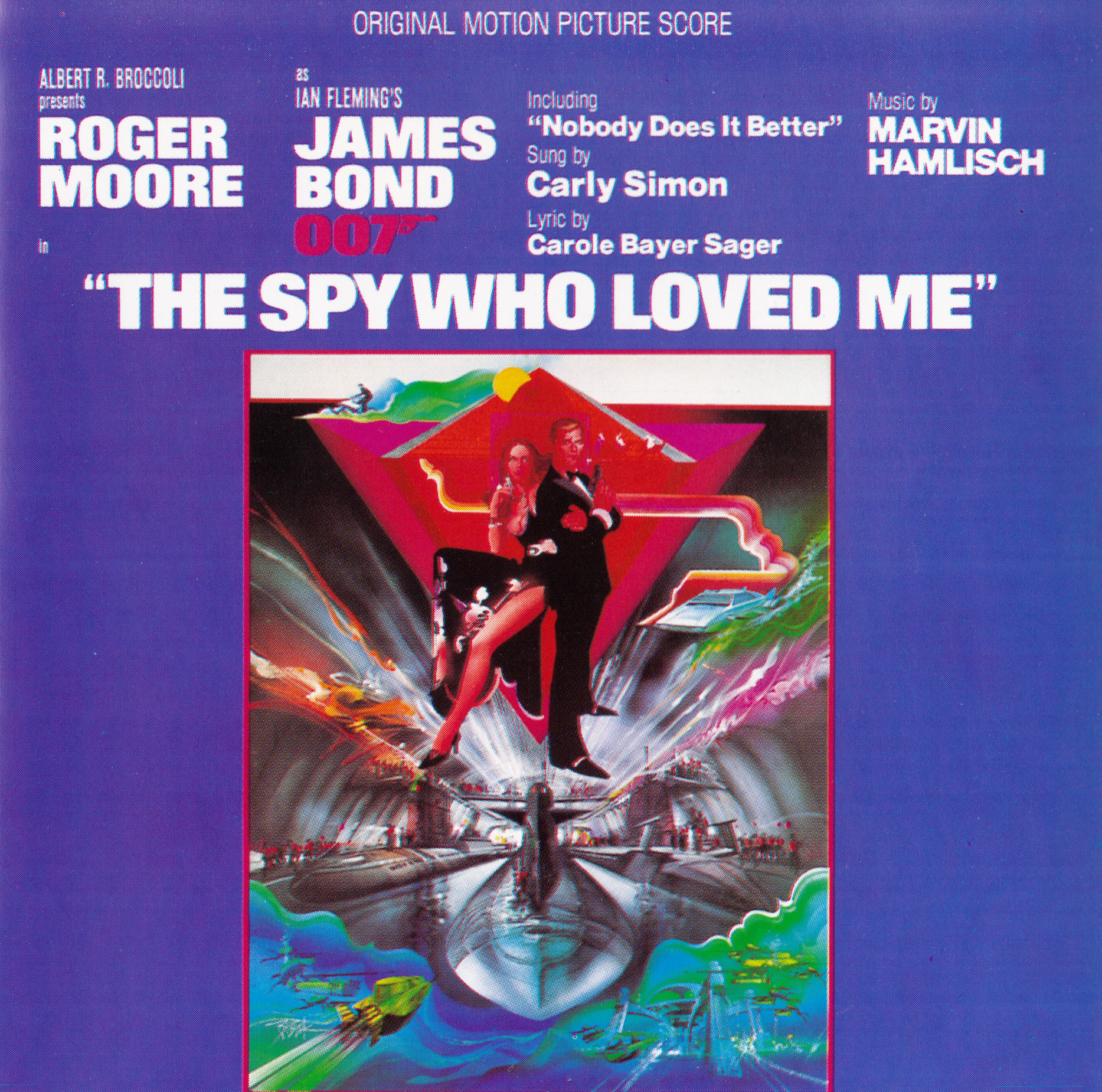 Film Music Site - The Spy Who Loved Me Soundtrack (Marvin ...The Spy Who Loved Me Soundtrack