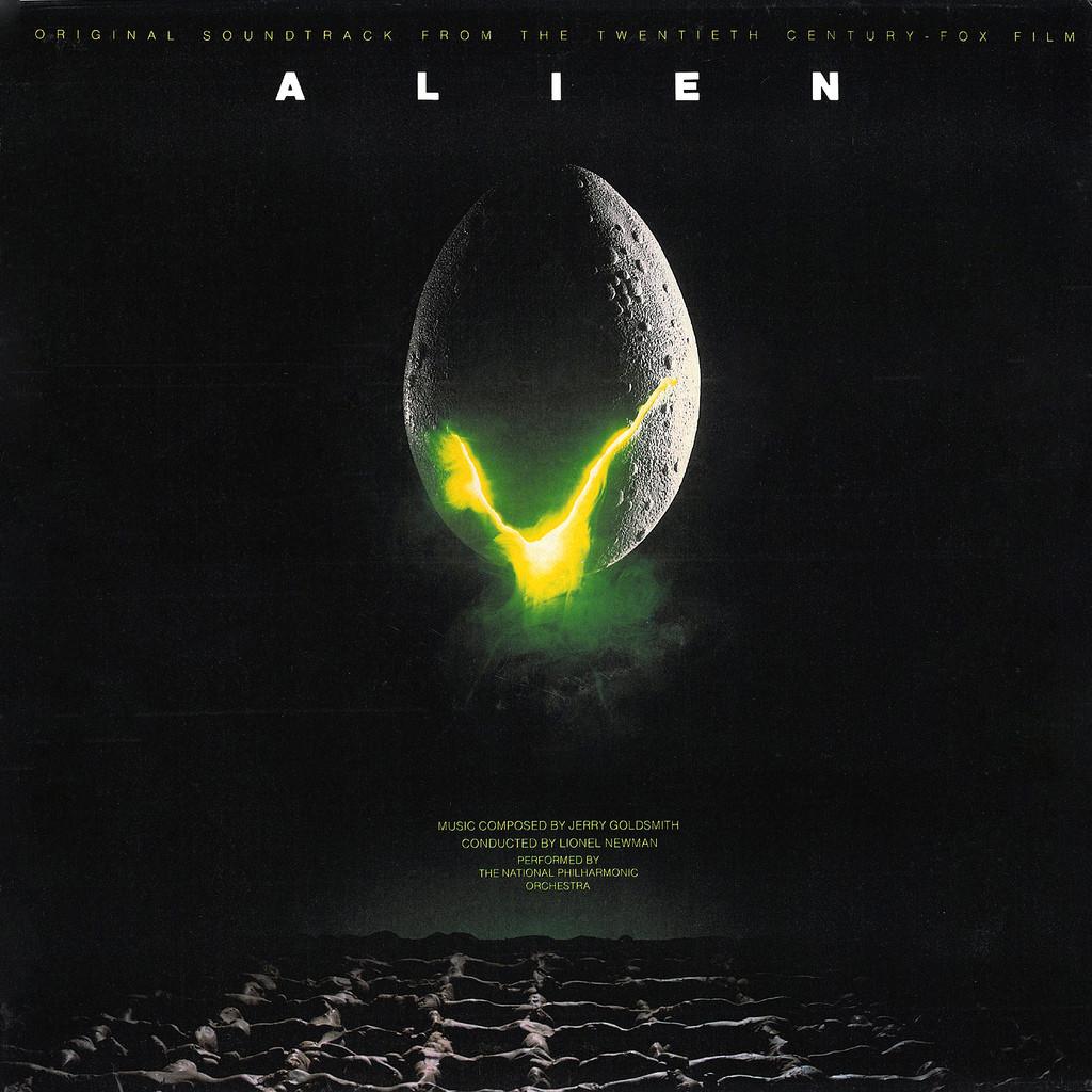 Film Music Site Alien Soundtrack Jerry Goldsmith