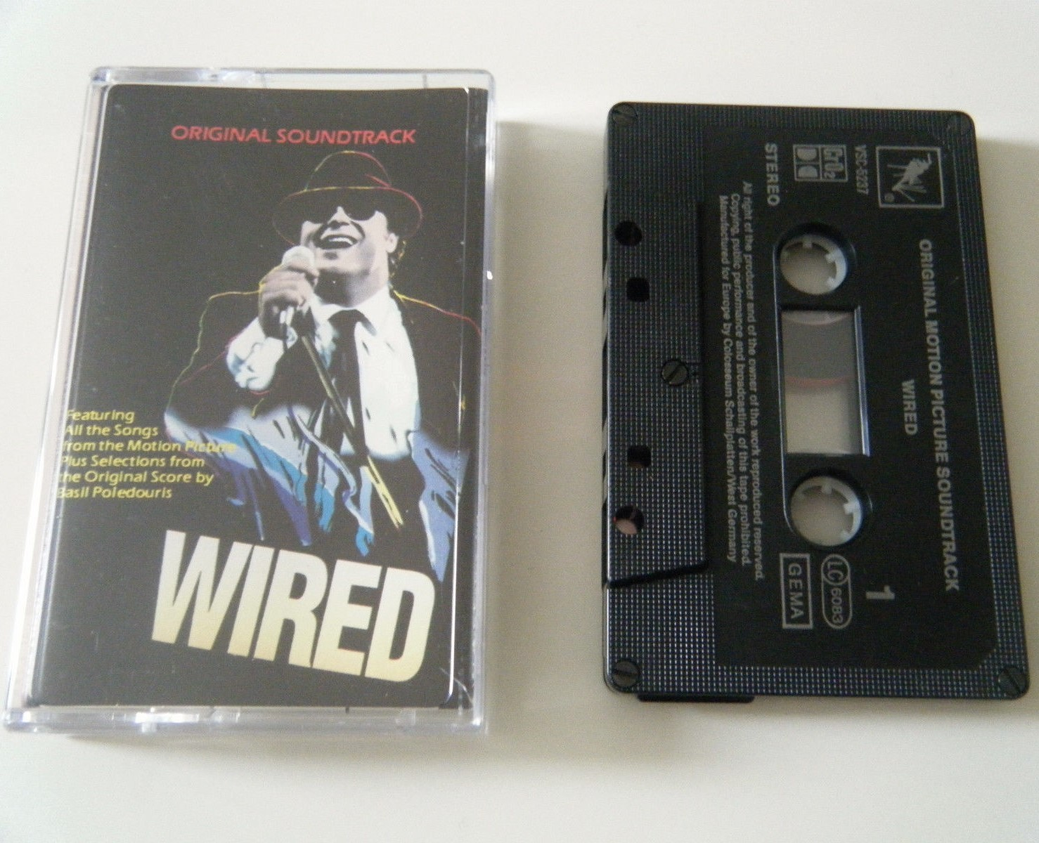 Film Music Site - Wired Soundtrack (Various Artists, Basil ...