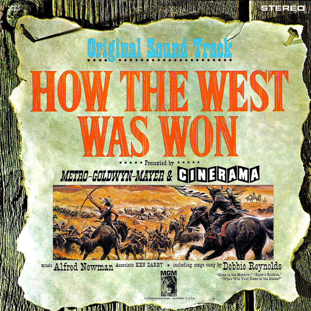Film Music Site - How the West Was Won Soundtrack (Various ...