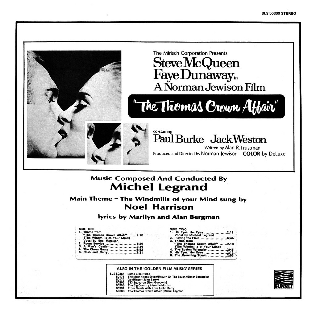 Film Music Site The Thomas Crown Affair Soundtrack