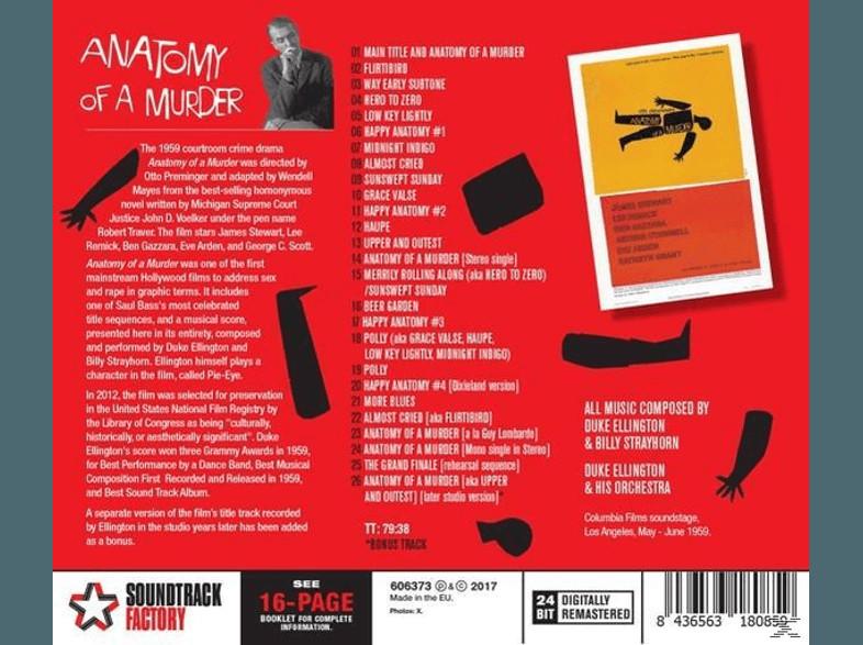 Anatomy of a murder soundtrack