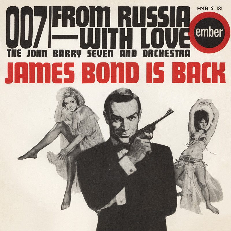 John Barry - From Russia With Love (Sound Track)