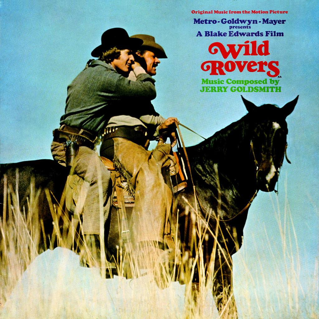 Film Music Site Wild Rovers Soundtrack Jerry Goldsmith