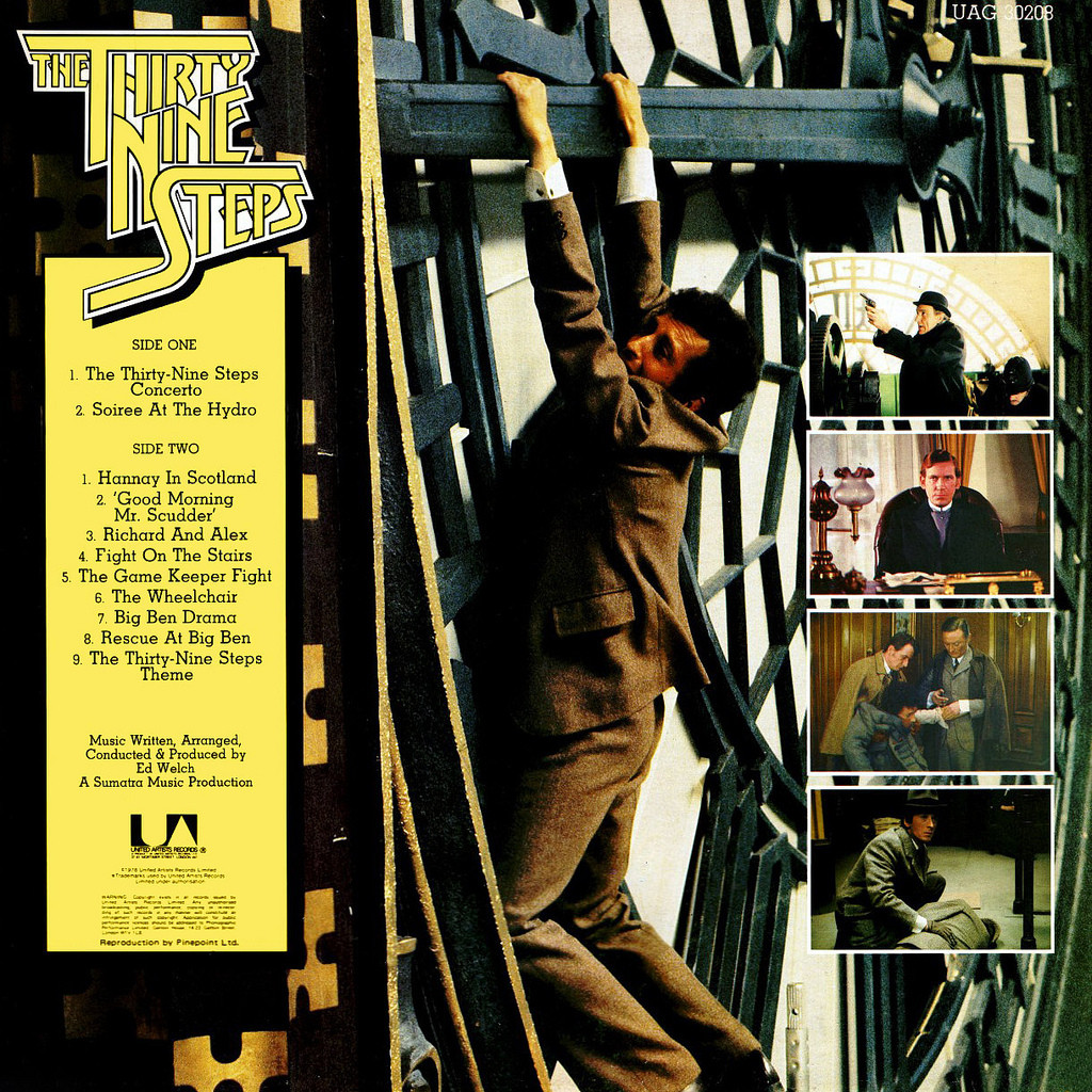 Film Music Site The Thirty Nine Steps Soundtrack Ed