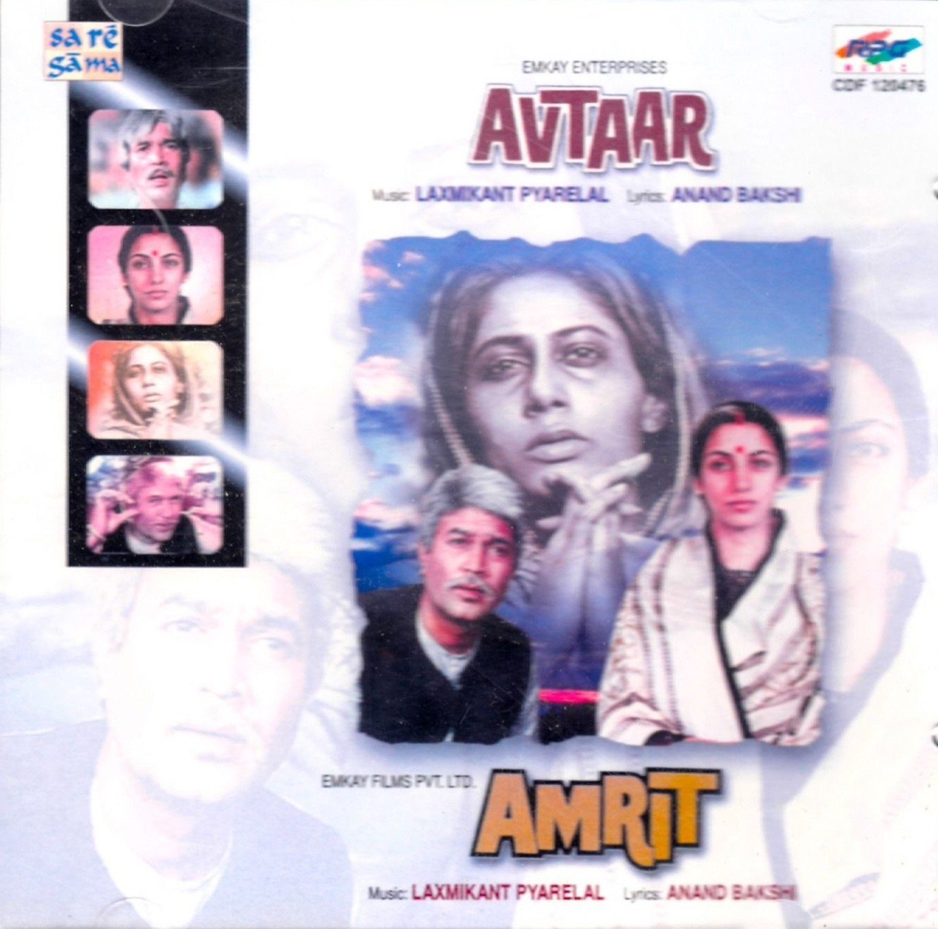 film music site - avtaar / amrit soundtrack (various artists, anand