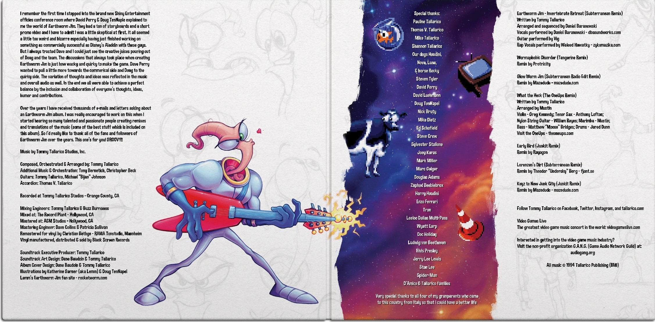 Film Music Site - Earthworm Jim Anthology Soundtrack (Tommy