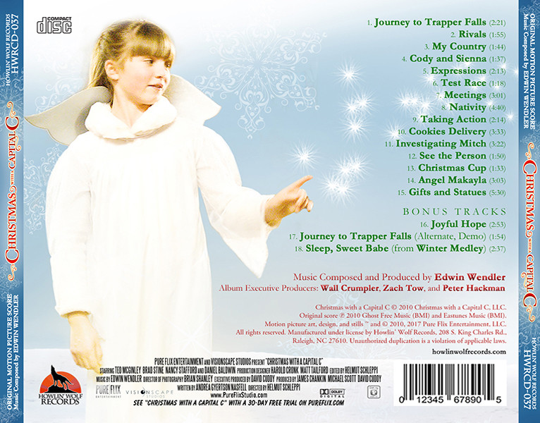 Christmas With A Capital C.Film Music Site Christmas With A Capital C Soundtrack