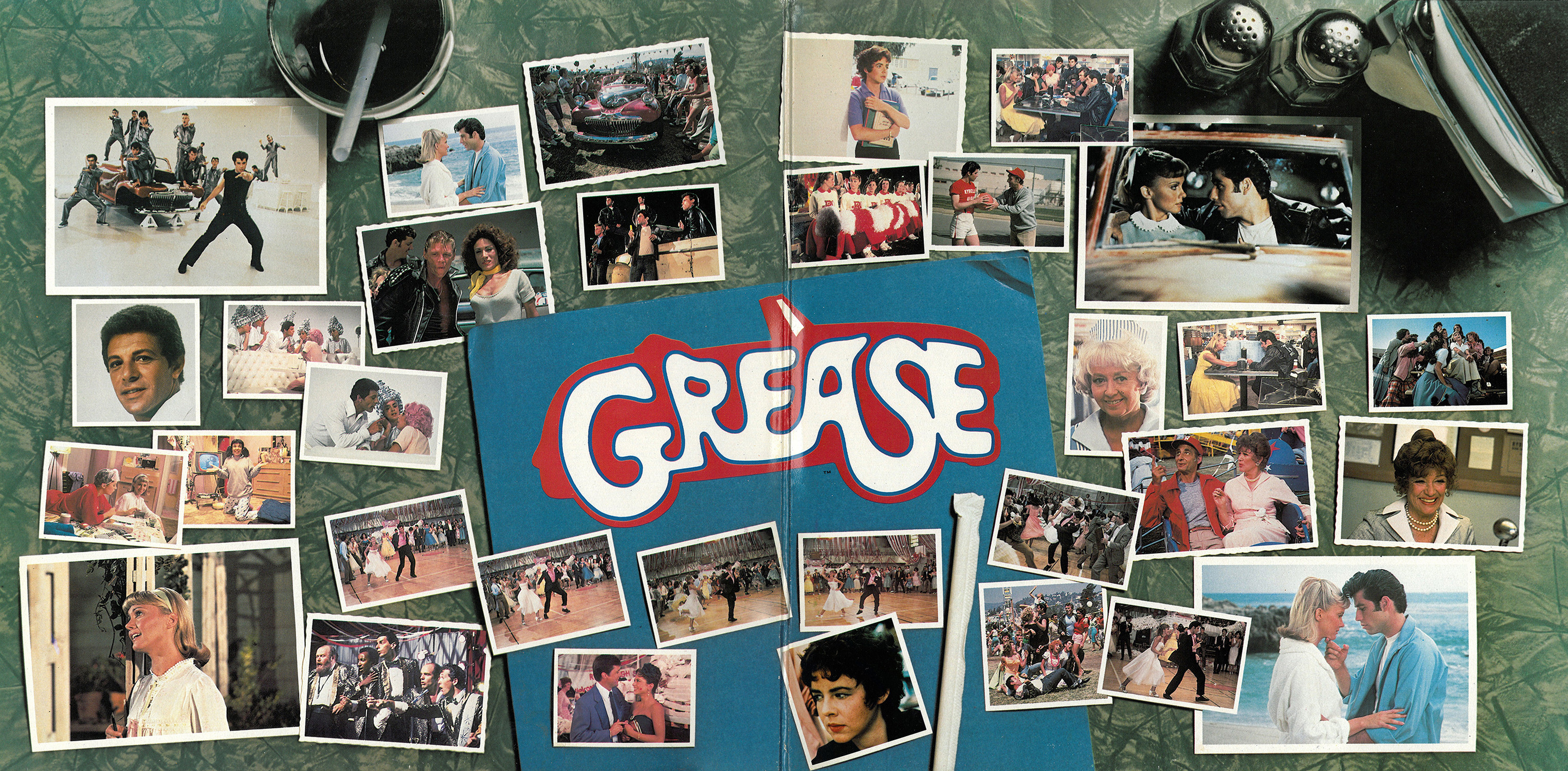 Film Music Site Grease Soundtrack Various Artists