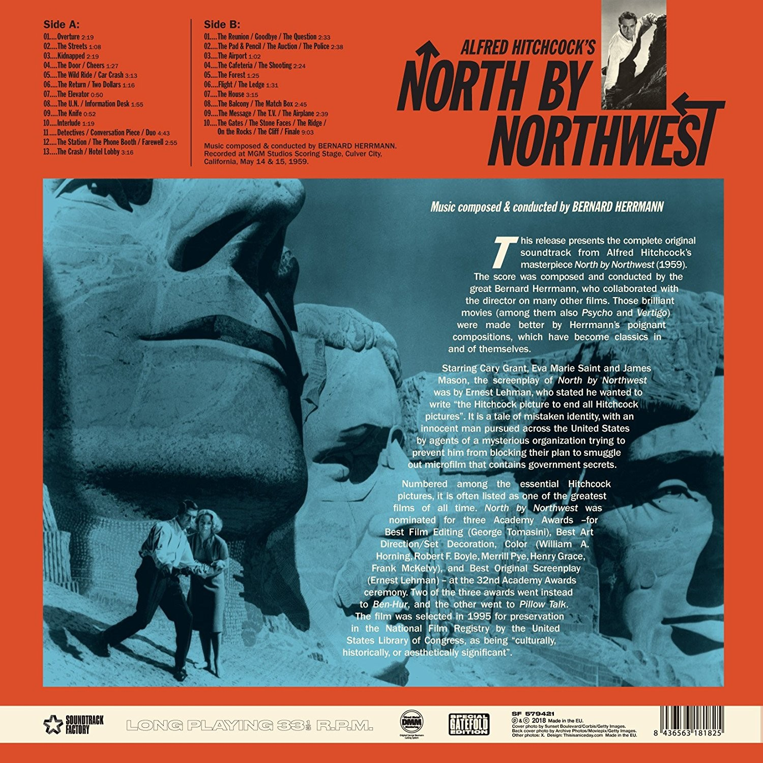 north by northwest soundtrack download
