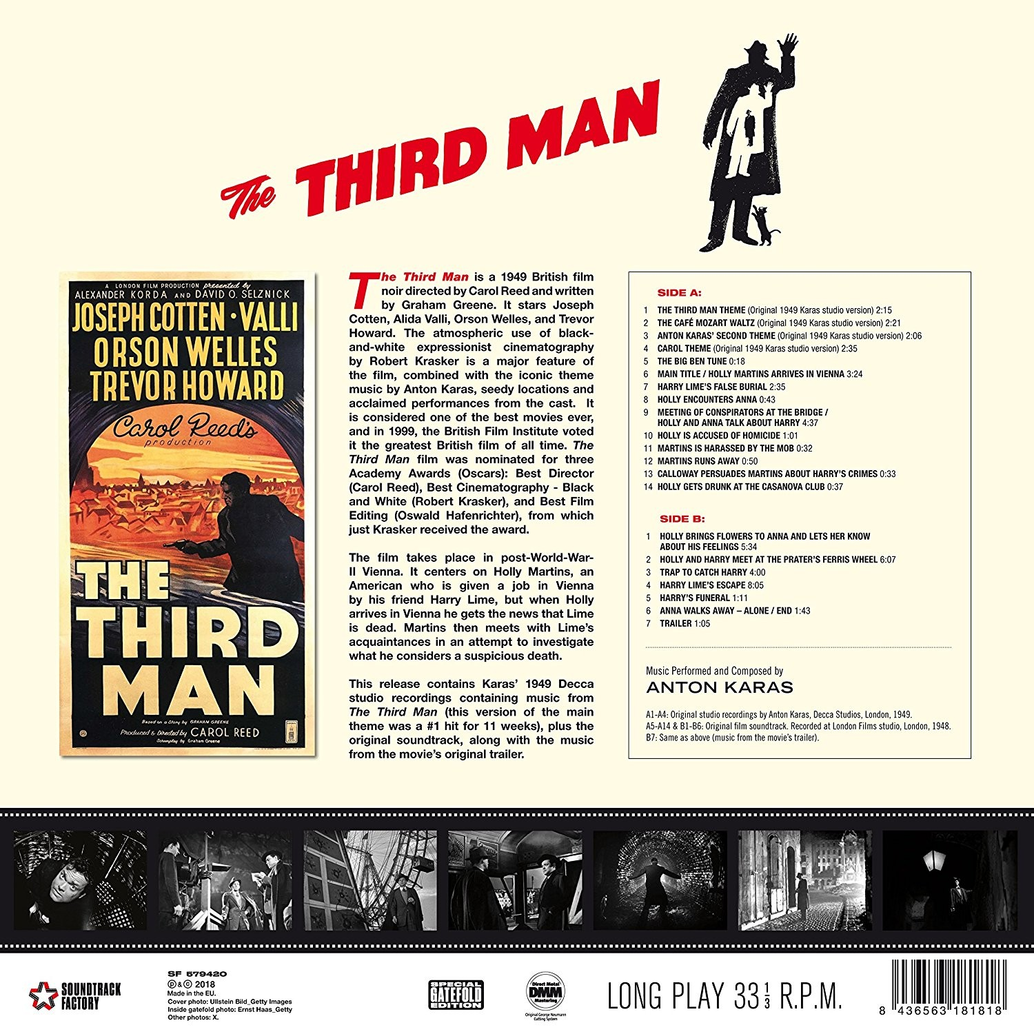 a movie analysis of the movie the third man directed by carol reed Get this from a library from fiction to film : a critical analysis of graham greene's the fallen idol, the third man, and our man in havana, directed by carol reed.