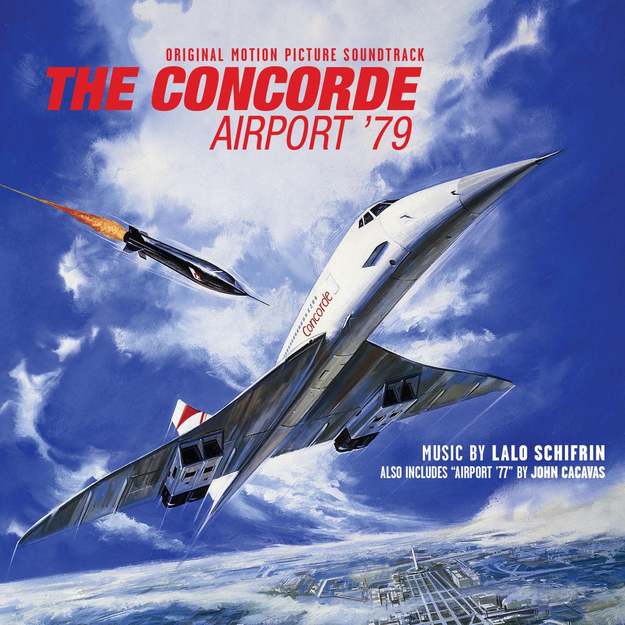 Film Music Site - Airport '77 / The Concorde...Airport '79 ...