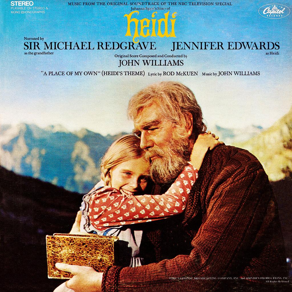 Film Music Site Heidi Soundtrack John Williams
