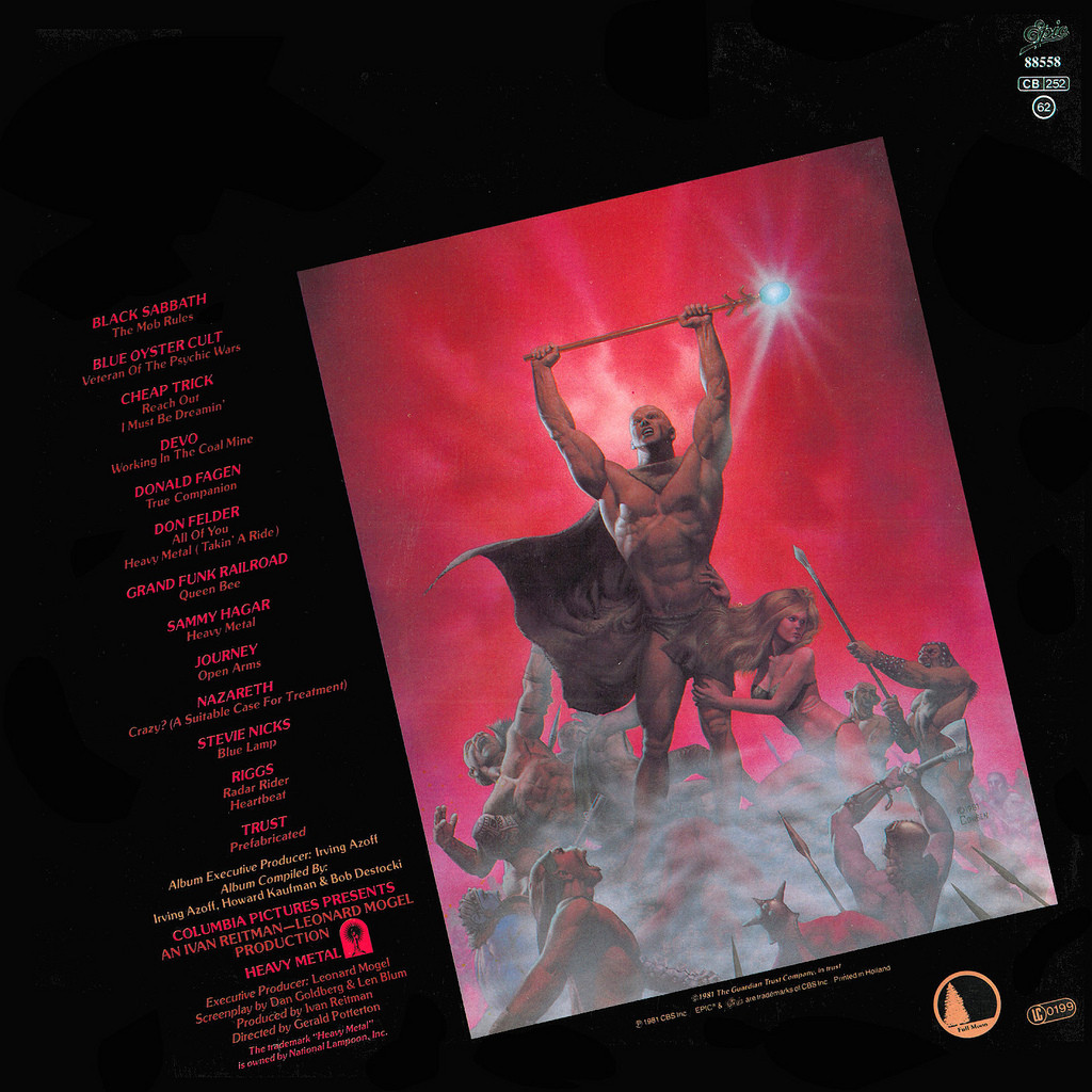 Heavy Metal Soundtrack (Various Artists