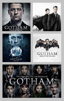 Gotham Season 2, 3, 4 and 5