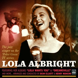 Lola Albright, The Jazz Singer On The Peter ...