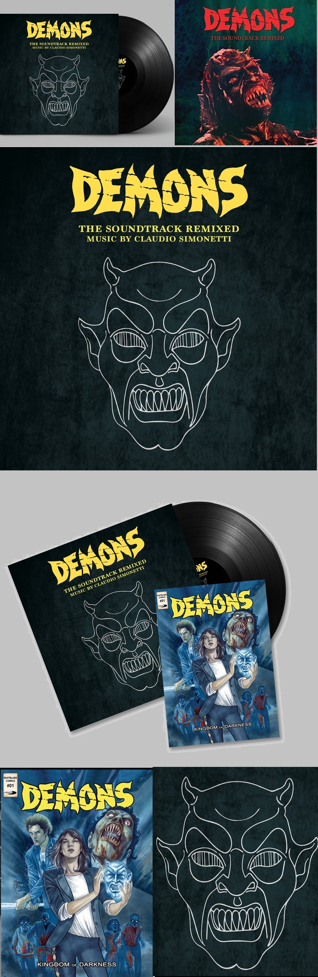Demons: The Soundtrack Remixed