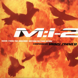 Mission: Impossible II Soundtrack (Hans Zimmer) - CD cover