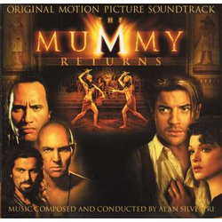 The Mummy Returns Soundtrack (Alan Silvestri) - CD cover