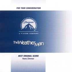 The Weather Man Soundtrack (Hans Zimmer) - CD cover