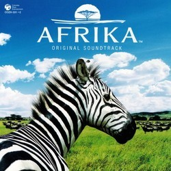 Afrika Soundtrack (Wataru Hokoyama) - CD cover