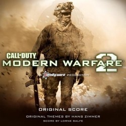 Call of Duty: Modern Warfare 2 Soundtrack (Lorne Balfe, Hans Zimmer) - CD cover