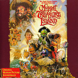 Muppet Treasure Island Soundtrack (Various Artists, Hans Zimmer) - CD cover