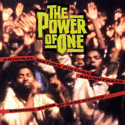 The Power of One Soundtrack (Hans Zimmer) - CD cover