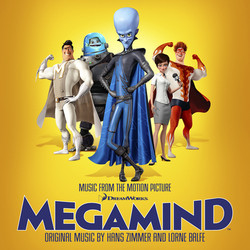 Megamind Soundtrack (Lorne Balfe, Hans Zimmer) - CD cover