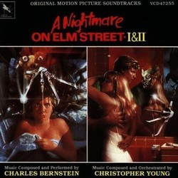 A Nightmare on Elm Street 1 & 2 Soundtrack (Charles Bernstein) - CD cover