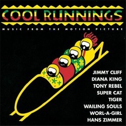 Cool Runnings Soundtrack (Various Artists, Hans Zimmer) - CD cover