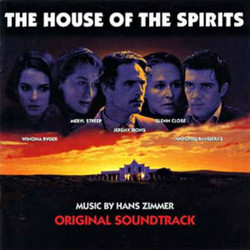 The House of the Spirits Soundtrack  (Hans Zimmer) - CD cover