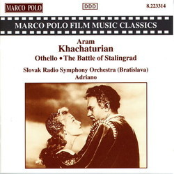 The Battle of Stalingrad, Othello Soundtrack (Aram Khachaturian) - CD cover