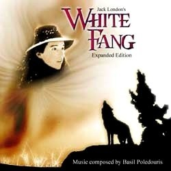 White Fang Soundtrack  (Basil Poledouris, Hans Zimmer) - CD cover