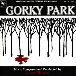 Gorky Park Soundtrack (James Horner) - CD cover