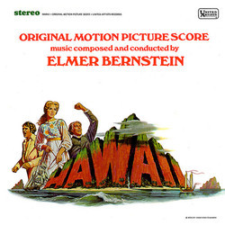 Hawai Soundtrack (Elmer Bernstein) - CD cover