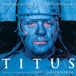 Titus Soundtrack (Elliot Goldenthal) - CD cover