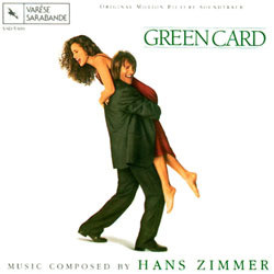 Green Card Soundtrack (Hans Zimmer) - CD cover