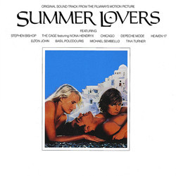 Summer Lovers Soundtrack (Various Artists, Basil Poledouris) - CD cover