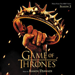 Game Of Thrones: Season 2 Soundtrack (Ramin Djawadi) - CD cover