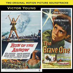 Run of the Arrow / The Brave One Soundtrack (Victor Young) - CD cover